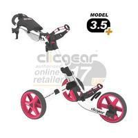 ClicGear Cart Golf Trolley 3.5 White/Pink - istylesport.co.uk