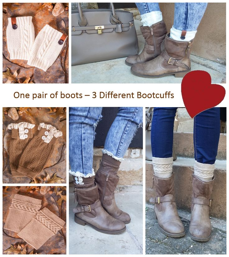 Update your look with a pair of #bootcuffs They are great even with ankle boots. www.mademois-elle.co.za