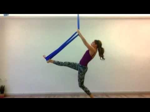 Aerial yoga flow