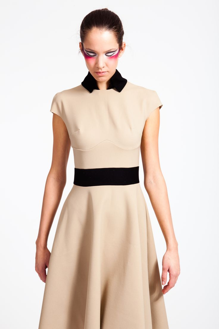 REETIMEE 2015 beige scholl dress