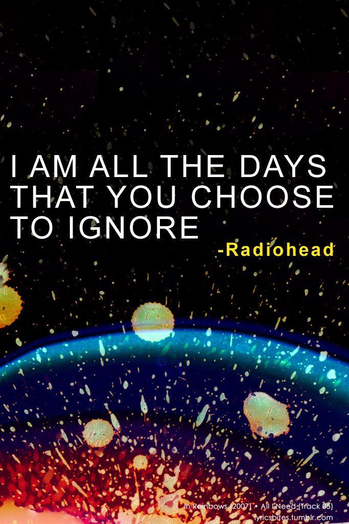 All I Need  #Radiohead #Lyrics #LyricsBites