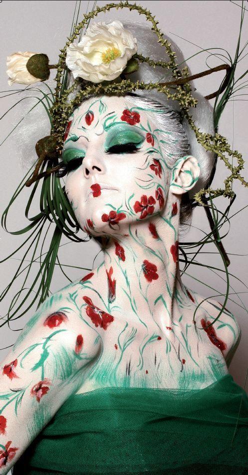 outrageous+makeup | Karim Orange: The Makeup Show NYC: Behind the Beauty