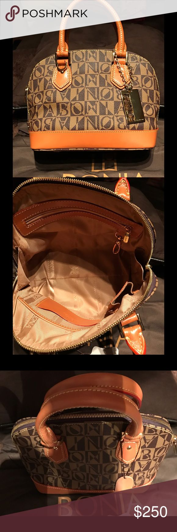 Bonia purse Brand new never used have tags booklet and dust bag perfect little purse so cute and handy purchased in Singapore and never been used bonia Bags Satchels