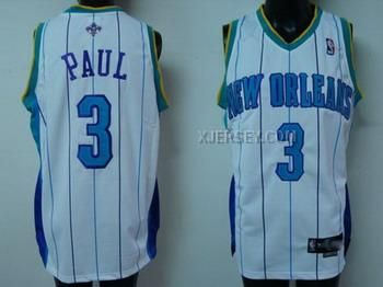 separation shoes 3511f dade7 new orleans hornets chris paul 3 blue swingman jersey sale