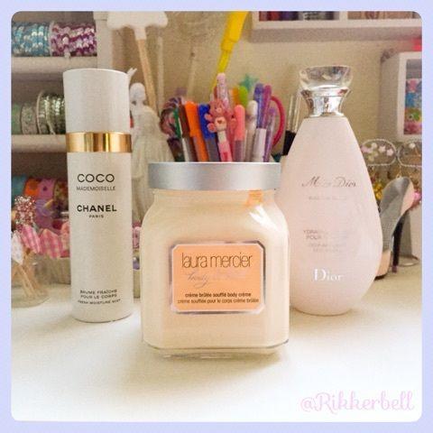 ♡CHANEL&laura mercier&Dior body care