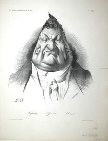Honoré Daumier, Le passe. Le present. L'avenir., January 9, 1834.