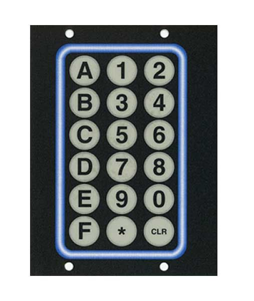 vending machine selection buttons