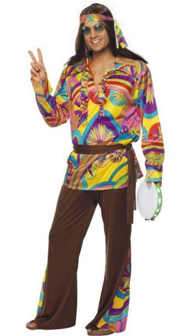 Resultado de imagen de disfraces hippies caseros
