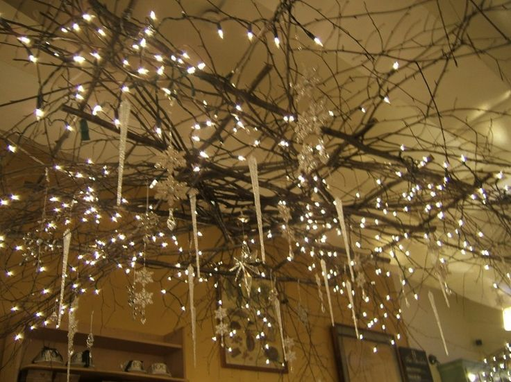 25 best ideas about twig chandelier on pinterest branch - Tree branch ceiling light ...