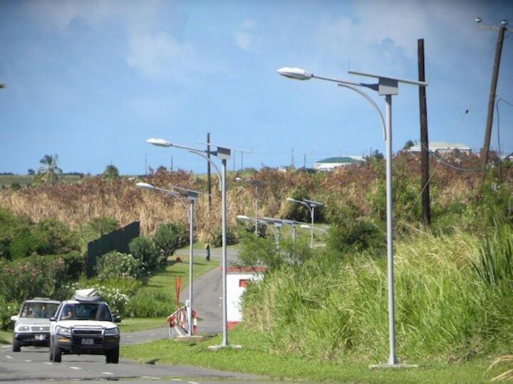Jamaica now has Solar  Powered street lights