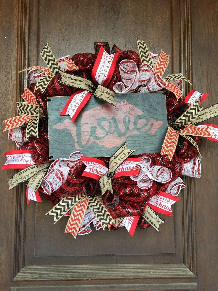 Razorback Wreath, University of Arkansas Wreath, Hog Wreath