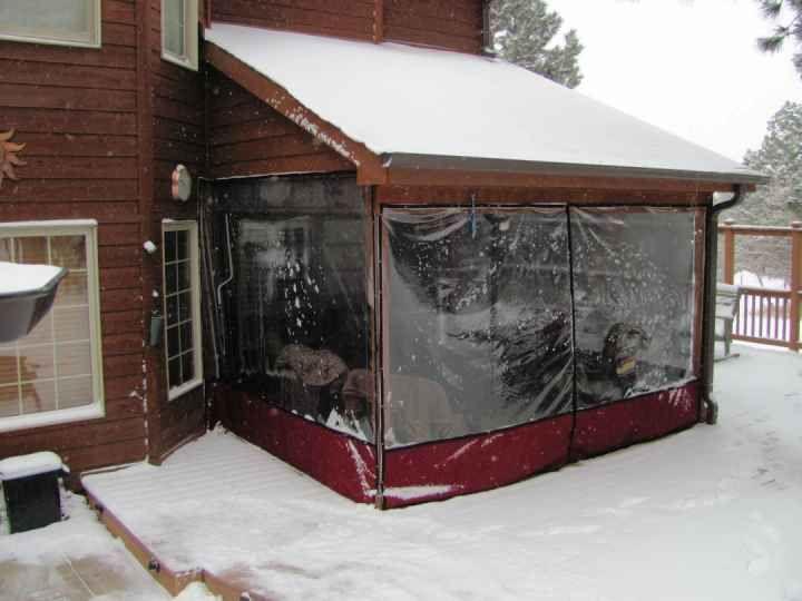 Clear Vinyl Plastic Enclosures Mosquito Curtains Patio Enclosures Porch Patio Patio