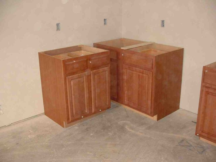 Pictures of Stock Prefab Kitchen Cabinet Installation How To