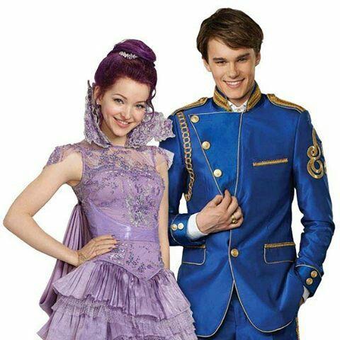 descendants 2015 ben and mal dating