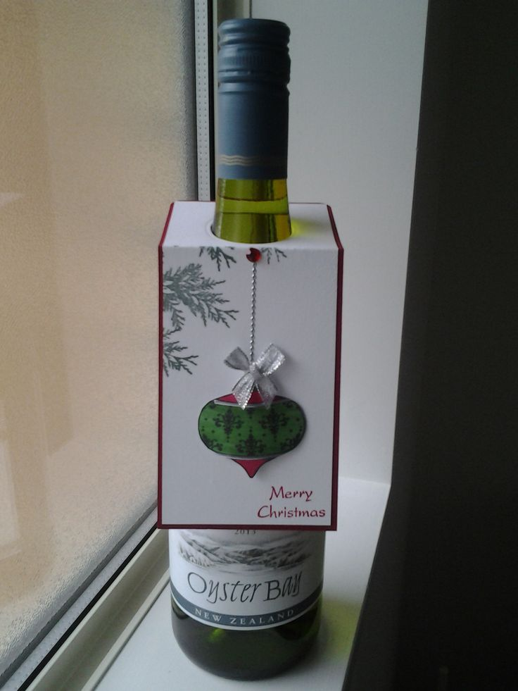 Gift tag for wine