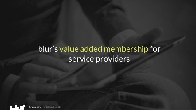 Our value added membership for Service Providers