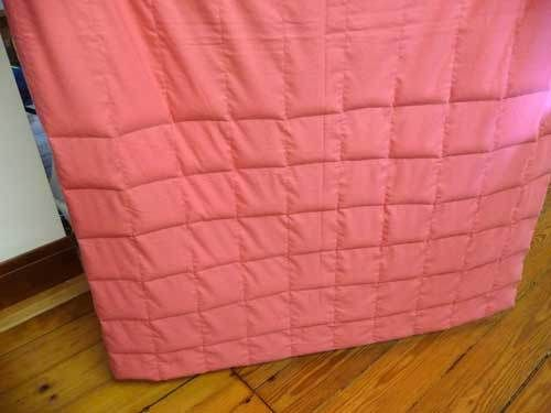 Weighted Blanket tutorial.  Instructions, pdf pattern, and step by step photos.