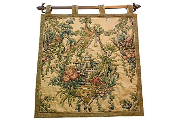 Midcentury Asian Tapestry on OneKingsLane.com