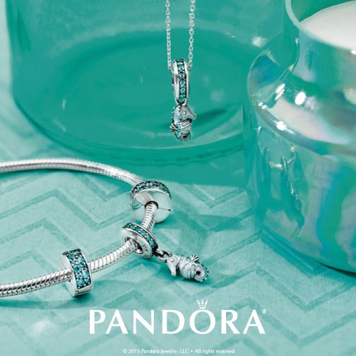 Take a dive into the deep blue. PANDORA Jewellery's ocean-inspired charms will get you ready for any summer getaway!
