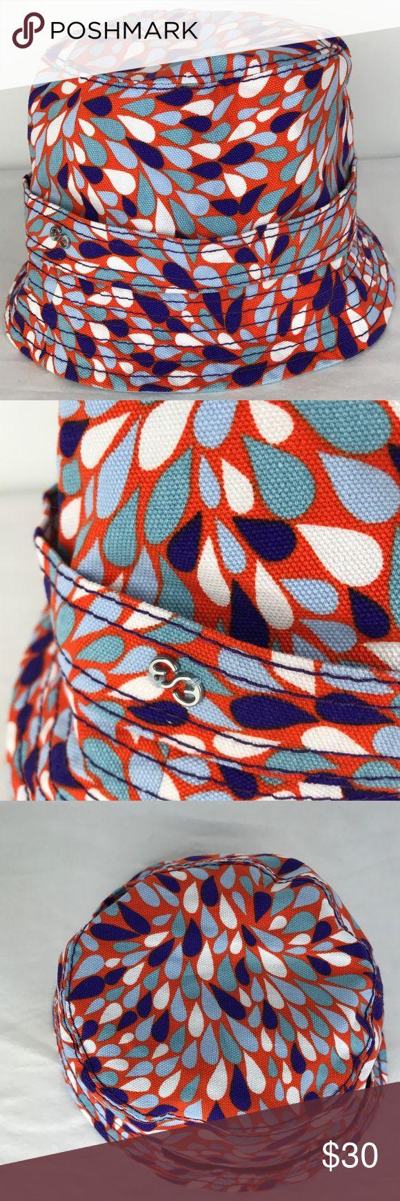 "Escada Summer Beach Hat Like new! Never worn, vibrant Escada beach hat.  Flat lay measurements: Diameter- 8""  C-12 Escada Accessories Hats"