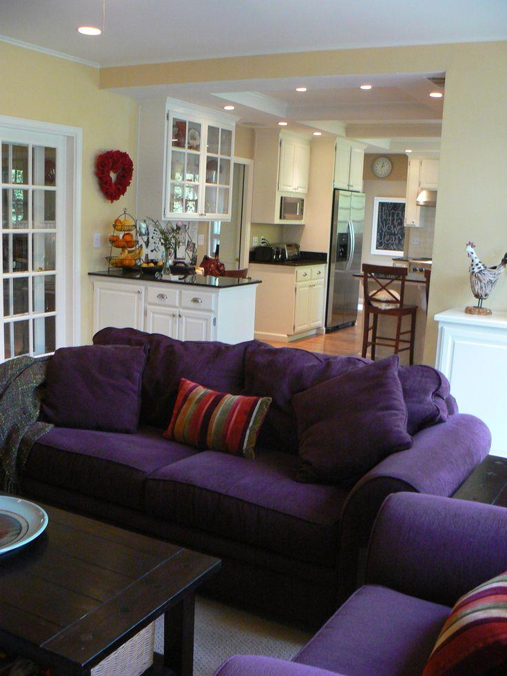 25 best purple sofa design ideas on pinterest purple sofa inspiration purple living room. Black Bedroom Furniture Sets. Home Design Ideas