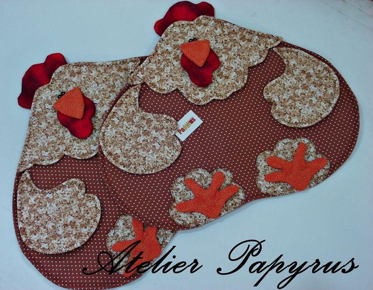 chicken quilt pattern