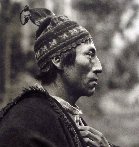 1931 superb collotype photograph of AYMARA by AntiqueORIGINALS