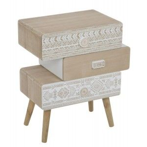 cassettiera design da camera decorazioni etniche