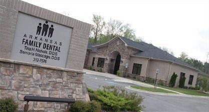 Dental Office Exterior Drs Tina Nichols And Samaria Mascagni Arkansas Family Dentistry