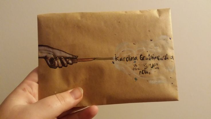 Envelope Harry Potter / Check out my blog: http://ineffable-inow.blogspot.be