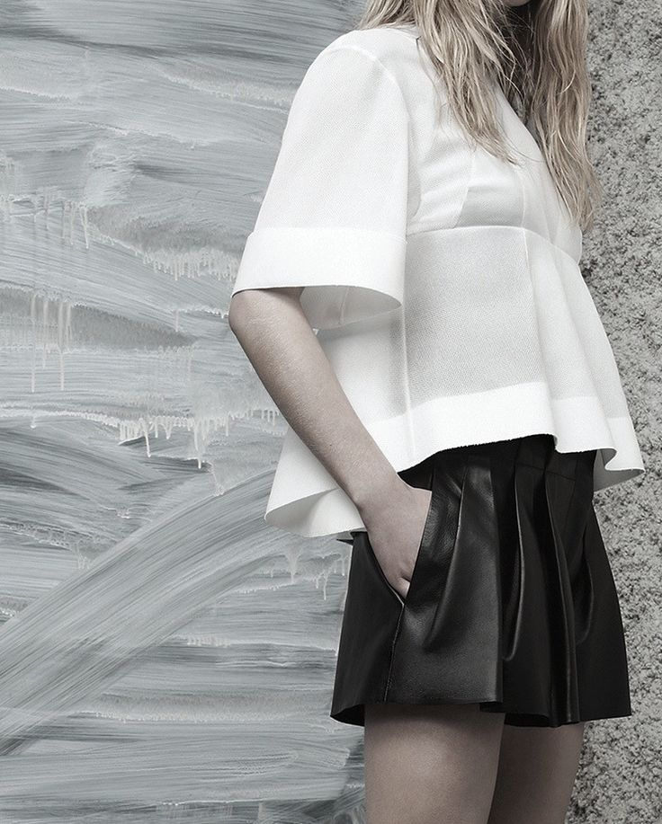 Minimal fashion and design.