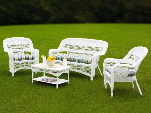 Tortuga Outdoor Portside Wicker 4 Piece Package By Tortuga Outdoor.  $599.99. Durable Powder
