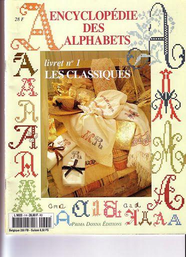Revista Enciclopédia de Alfabetos - Lucilene Donini - Picasa Web Albums...FREE BOOK & CHARTS!