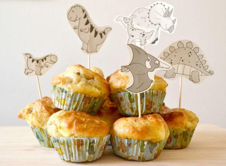 Enfin une recette de cupcakes qui autorise toute forme de difformité ! Fini l'angoisse du débordement, des bosses, ou des bulles ! Ici c'est autorisé !!! Et en plus ça rend ces cupcakes salés plus ...