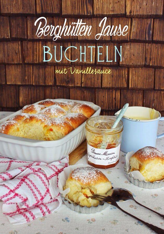 Buchteln mit Vanillesauce   http://www.sbastelkistle.blogspot.co.at
