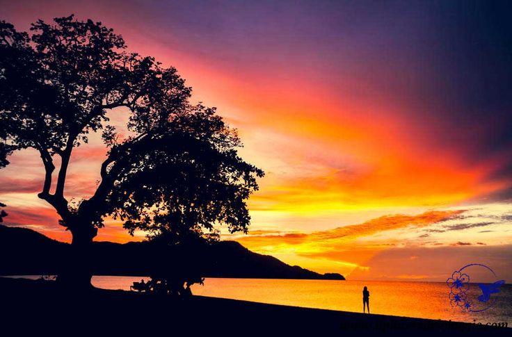 Sunset at Coco Beach, Peninsula de Nicoya, along the Pacific coast  Tramonto a Coco Beach, lungo la costa del Pacifico, nella Penisola di Nicoya   #costarica #beach #spiaggia #ocean #sunset #tramonto #pacific #ocean