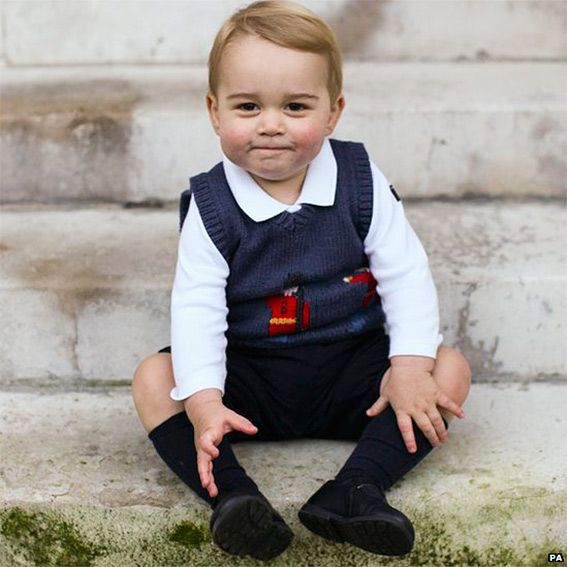 The Many (Adorable) Angles of Prince George of Cambridge - Prince George Spreads Christmas Cheer from #InStyle