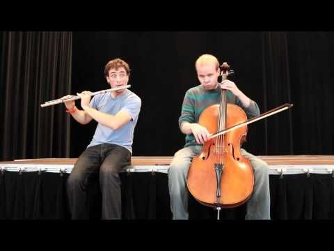 The Barber of Seville as jacked by Greg Pattillo and Eric Stephenson. This would be an awesome piece to play with someone :)