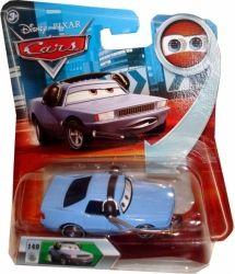 Masinuta metalica, scara 1:55, inspirata din filmul de animatie Cars. Ochii sunt cu imagine lenticulara. Varsta recomandata: +3 ani