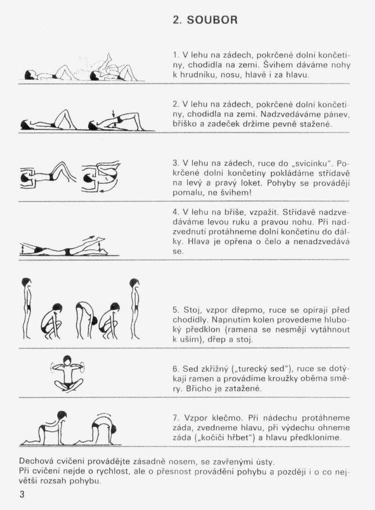 ~ Vše pro tělo ~ - SKOLIÓZA - Cvičení při skolióze a vadném držení těla