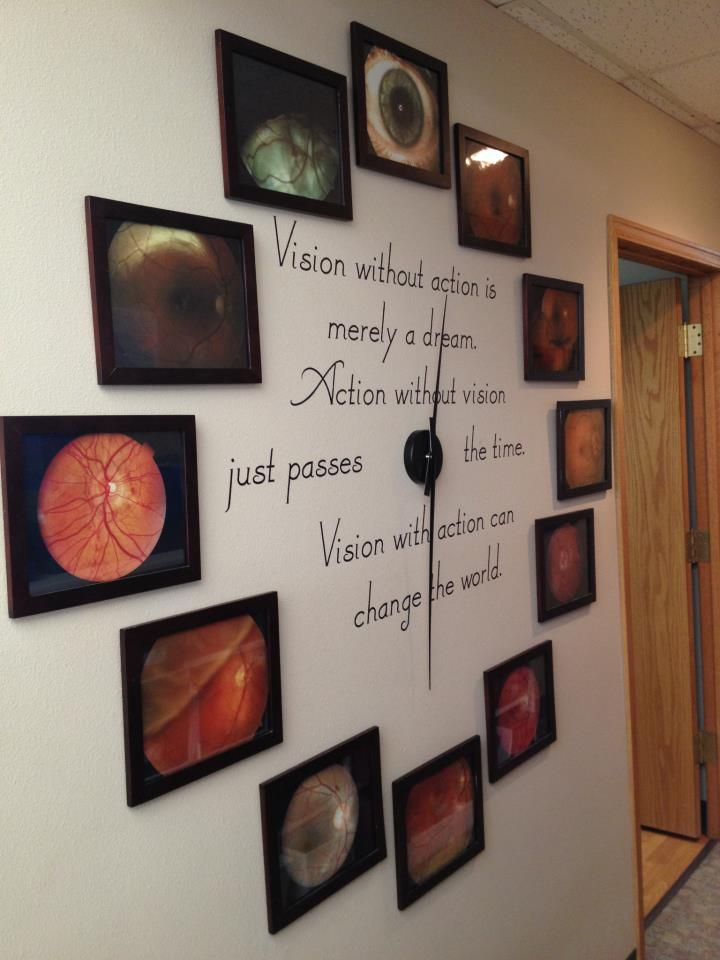 """""""Vision without action is only a dream; Action without vision just passes the time; Vision with passion can change the world!""""  http://www.facebook.com/#!/pages/Bauer-Clausen-Optometry/125840857495045"""