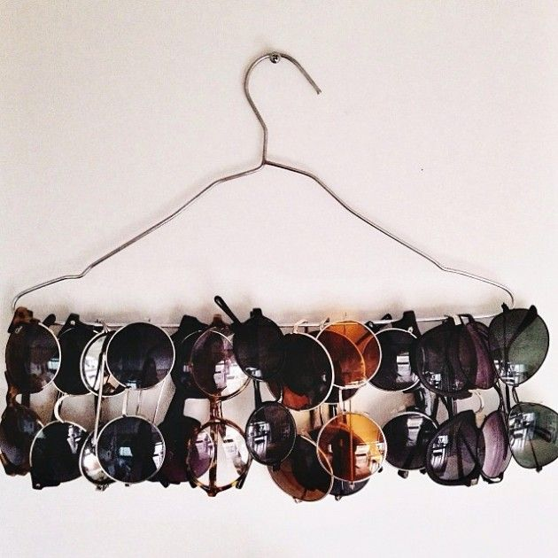 LOVE this DIY organizer for sunnies. Brought to you by Shoplet Canada- everything for your business.