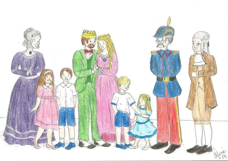 Babar and Family -- The Human Edition by Neiram.deviantart.com