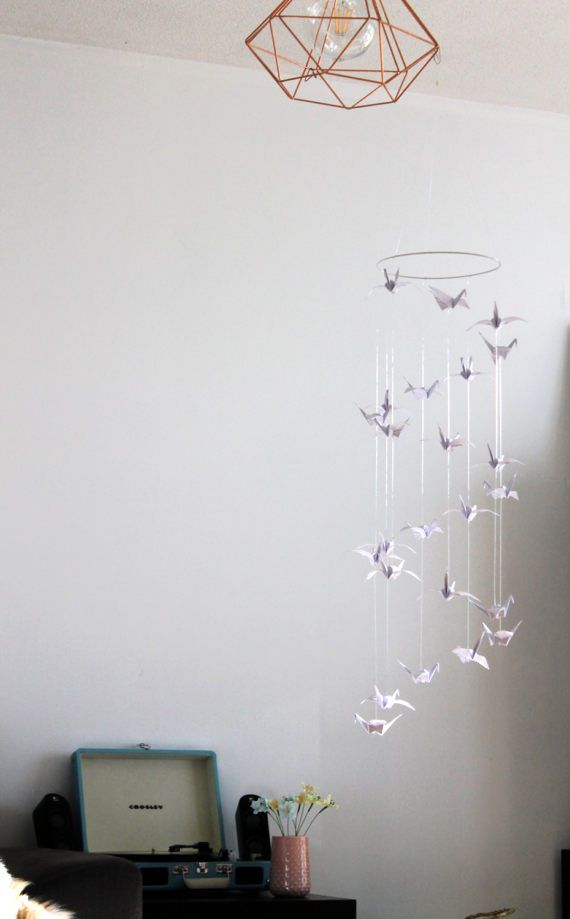 1000 ideas about origami mobile on pinterest mobiles for Origami decorations for your room