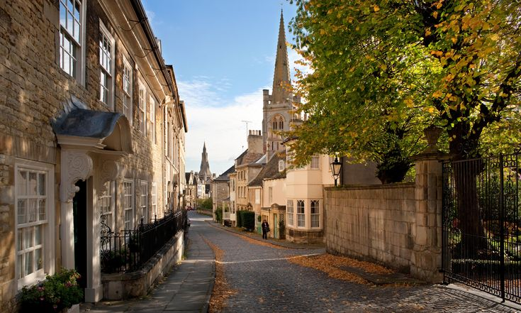 Stamford, Lincolnshire.  Photograph: Getty Images.