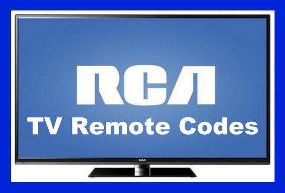 RCA TV Remote Codes