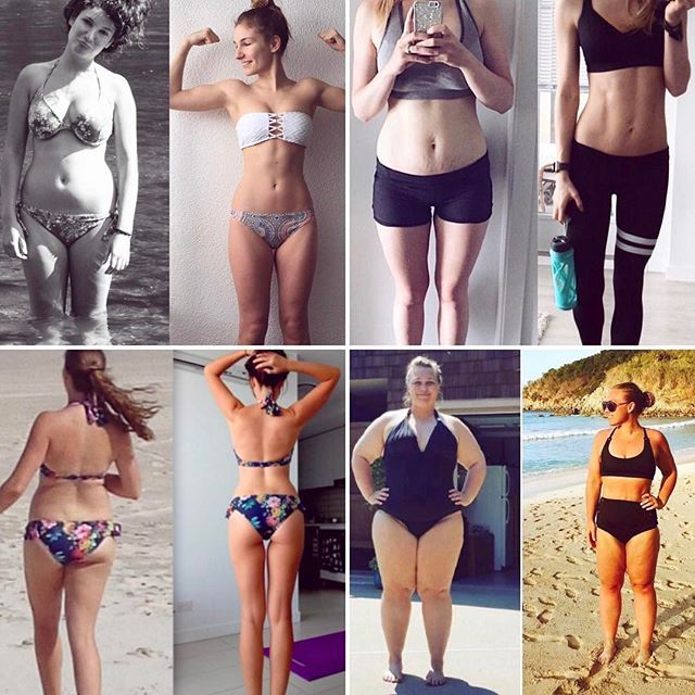 Amazing women from all over the world!!! All results using my #bbg program  Check it out at www.kaylaitsines.com/app (link in bio)