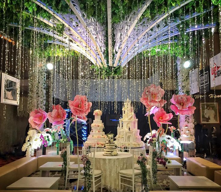 "1,697 Likes, 10 Comments - The Bride's Bestfriend (@thebridebestfriend) on Instagram: ""Dekorasi dari #MantenanYayasNosa ini sungguh unik ya! Konsep pasar tradisional seperti ini…"""