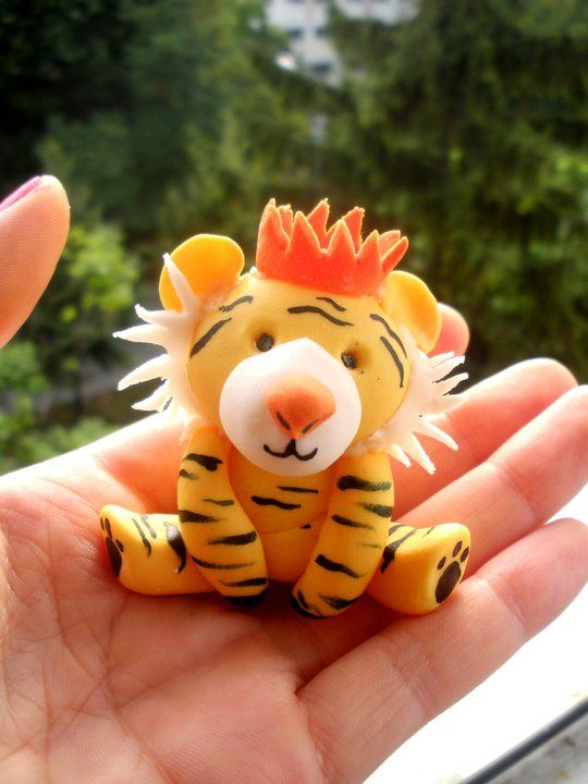 Polymer Clay Tiger - Bing Images