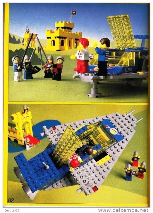 CATALOGUE LEGO LEGOLAND N° 6000 ANNEE 1979 ETAT NEUF AVEC PLANCHE ADHESIFS INCORPOREE
